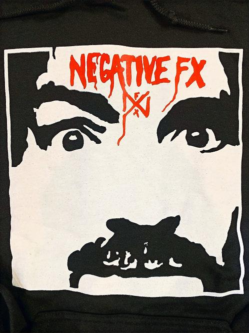 NEGATIVE FX HOODED SWEATSHIRT