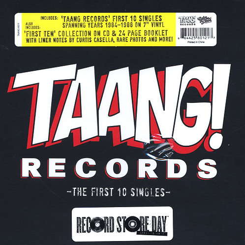 TAANG! RECORDS: First 10 Singles BOX SET 2000 MADE