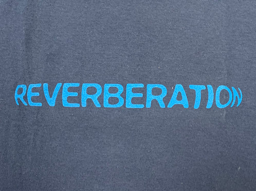 REVERBERATION BLUE  T-SHIRT