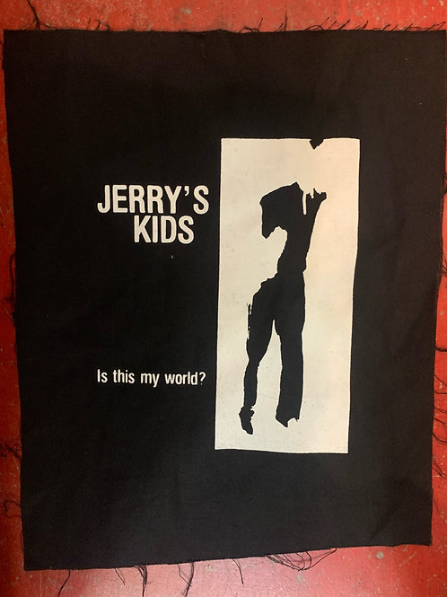 JERRY'S KIDS BACK PATCHES