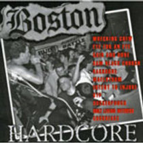BOSTON HARDCORE - COMPILATION 1989-91 - CASSETTE