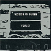 MISSION OF BURMA - FORGET CD