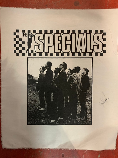 SPECIALS BACK PATCH (WHITE)