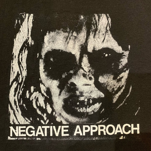 NEGATIVE APPROACH EXORCIST T- SHIRT