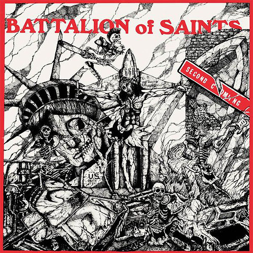 BATTALION OF SAINTS - SECOND COMING +LIVE '84 19 EXTRA SONGS