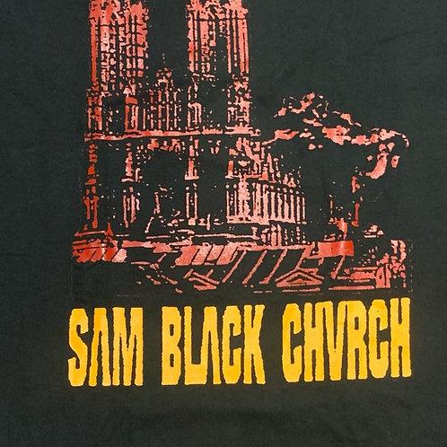 SAM BLACK CHURCH DOUBLE SIDED T-SHIRT