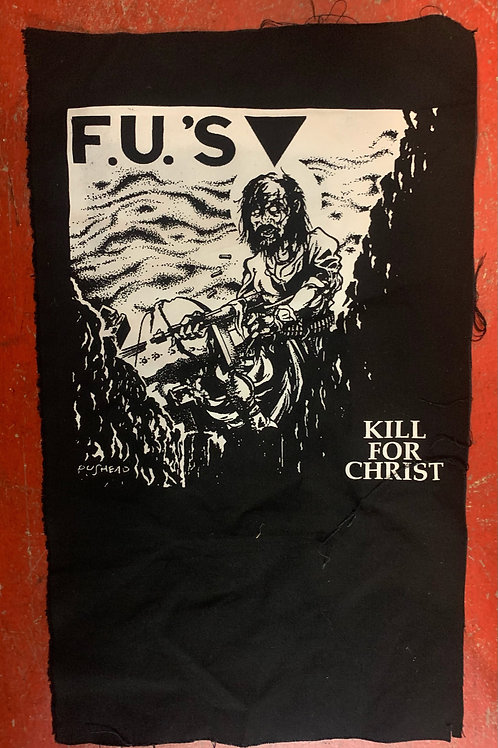 F.U.S BACK PATCH