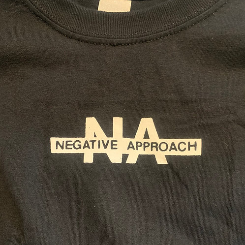 NEGATIVE APPROACH DOUBLE SIDED T-SHIRT