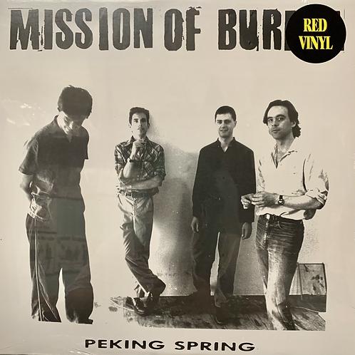 MISSION OF BURMA - PEKING SPRING RED VINYL