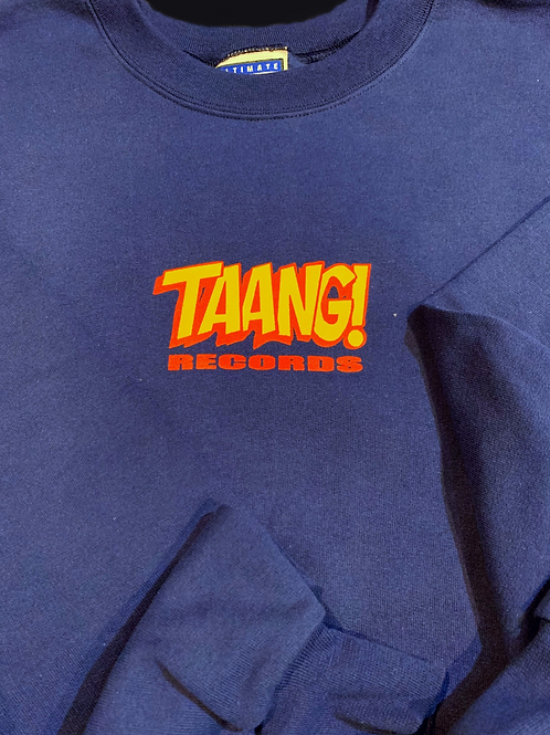 TAANG! Logo Double-Sided Crewneck Sweatshirt