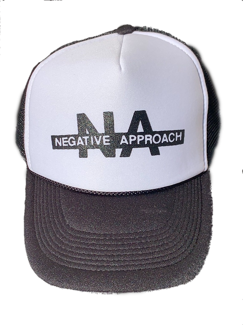 NEGATIVE APPROACH Trucker (Black/White)