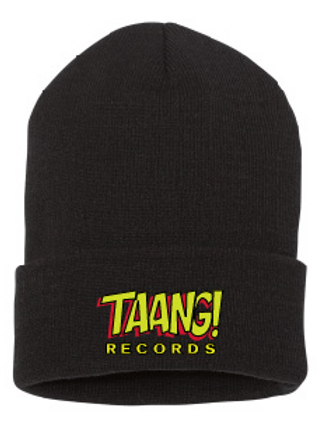 TAANG! Roll-Beanie (Yellow/Red)