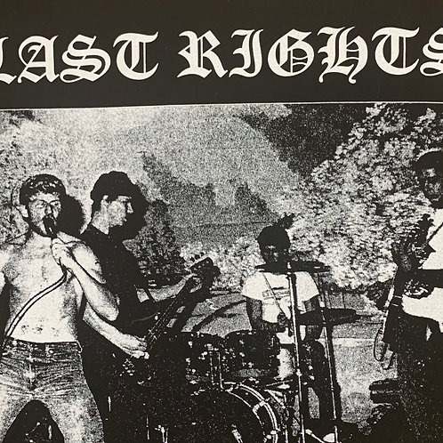 LAST RIGHTS DOUBLE SIDED T-SHIRT