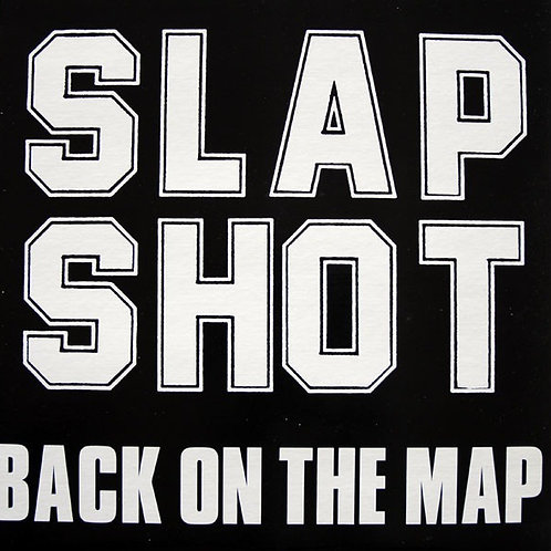 SLAPSHOT - Back on The Map - RED VINYL