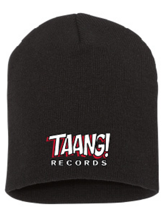 TAANG! Beanie (White/Red)