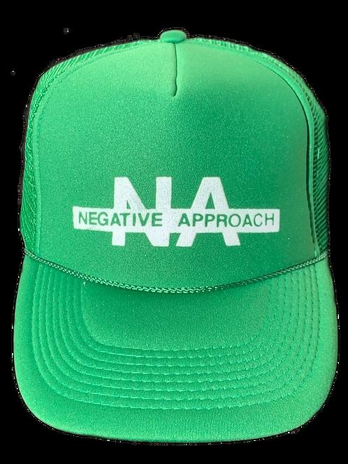 NEGATIVE APPROACH Trucker (Green)