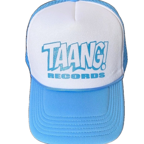 TAANG! Trucker Hat (Blue/White)