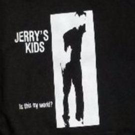 JERRY'S KIDS IS THIS MY WORLD? HOODED SWEATSHIRT