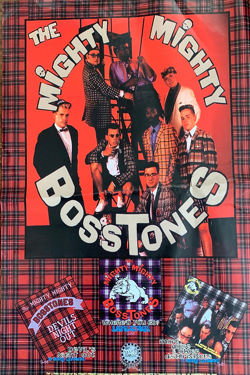 MIGHTY MIGHTY BOSSTONES - POSTER