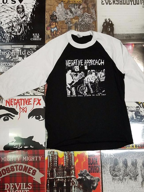 NEGATIVE APPROACH NOTHING BASEBALL T