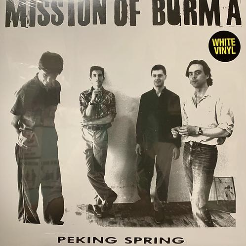 MISSION OF BURMA - PEKING SPRING WHITE VINYL