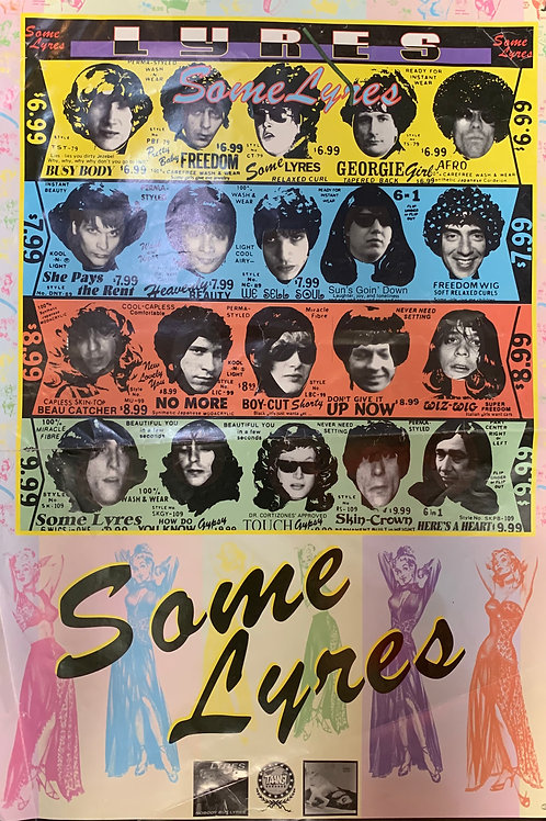 LYRES POSTER