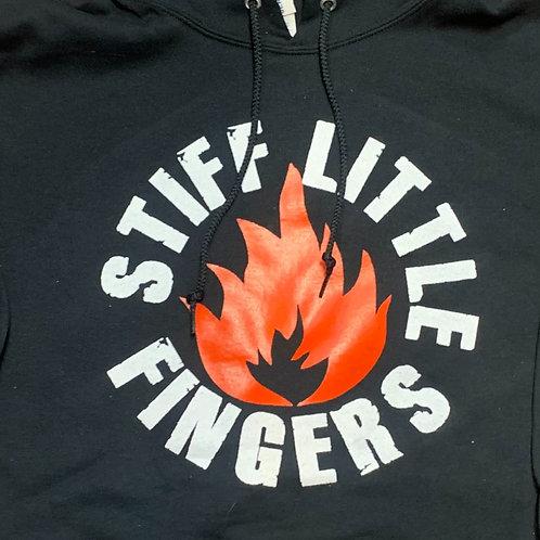 STIFF LITTLE FINGERS FLAMMABLE HOODED SWEATSHIRT
