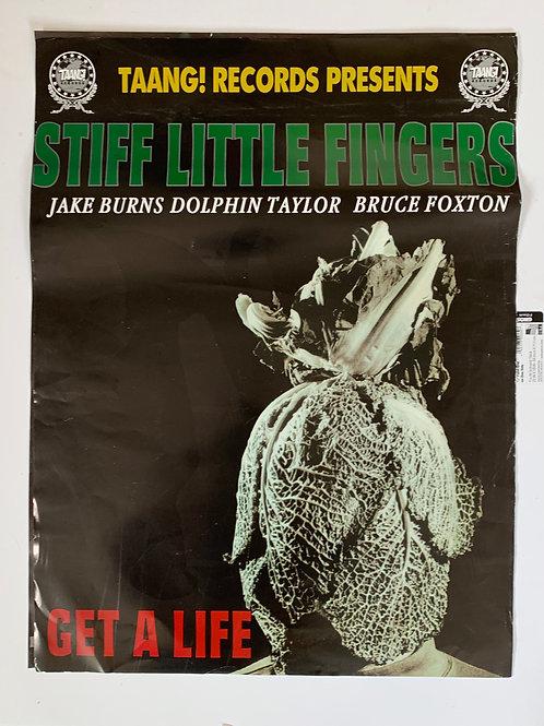 STIFF LITTLE FINGER - POSTER