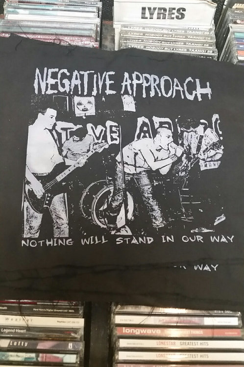 Negative Approach Nothing Will Stand In Our Way Back Patch