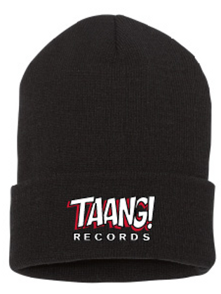 TAANG! Roll-Beanie (Red/White)