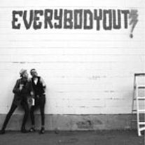 EVERYBODY OUT- Freeze S/T LP