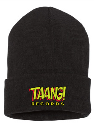 TAANG! Roll-Beanie (Red/Yellow)