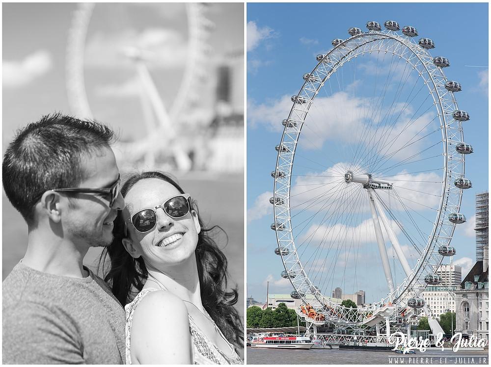 Séance engagement London Eye