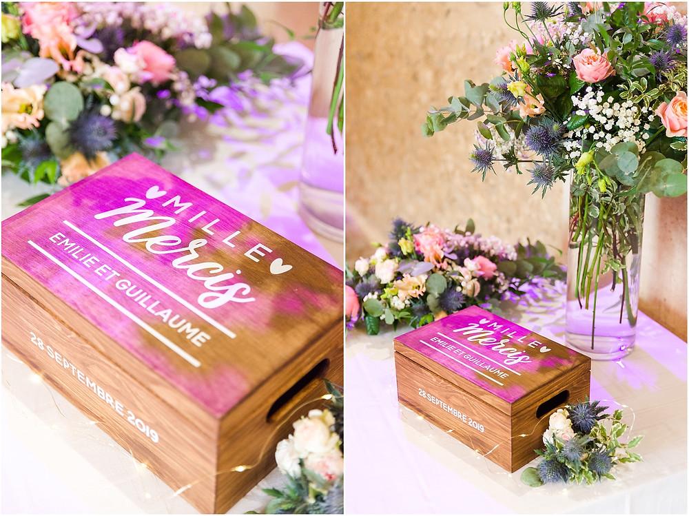 décoration mariage la vallée aux pages