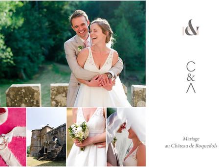 Mariage au Château de Roquedols | Lozère | C&A