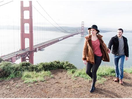 Séance Photo Lifestyle à San Francisco  | Golden Gate Bridge | C&G