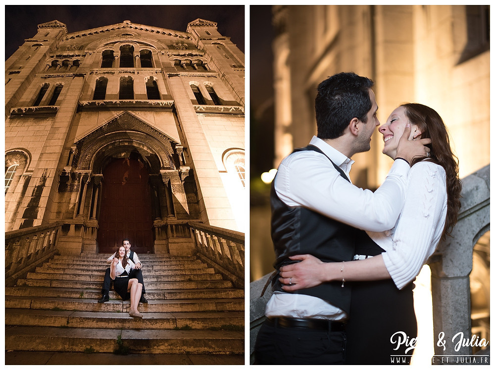 Photo couple Montmartre