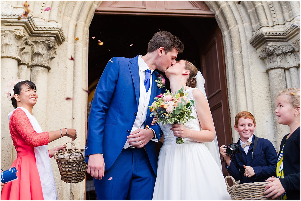 sortie église mariage yvelines
