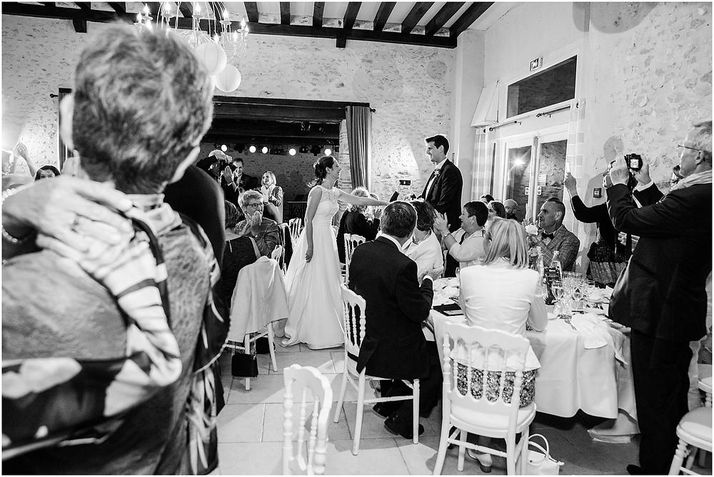 soirée mariage la vallée aux pages