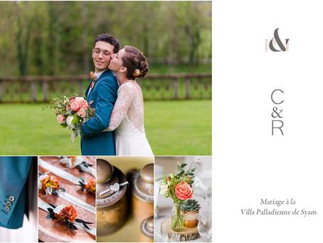 Mariage à la Villa Palladienne de Syam | Jura | C&R