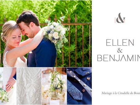 Mariage à la Citadelle de Bourg | Gironde | E&B