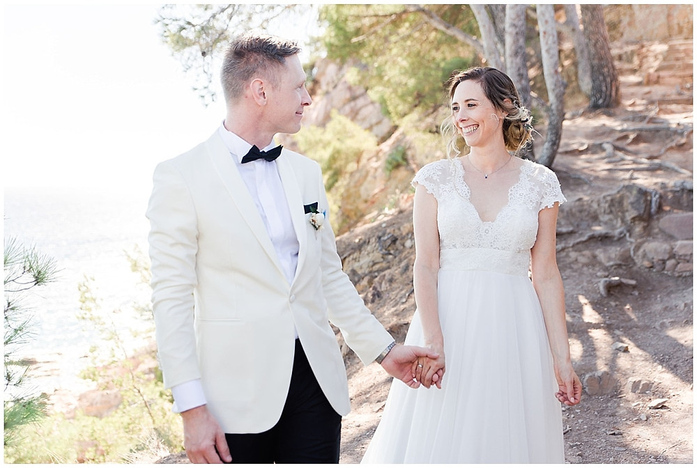 Photo de couple - mariage à saint-mandrier-sur-mer dans le var.