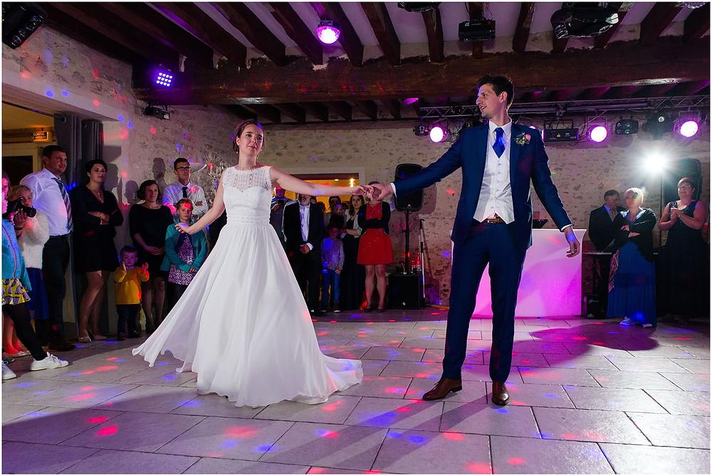 ouverture de bal mariage domaine de la vallée aux pages