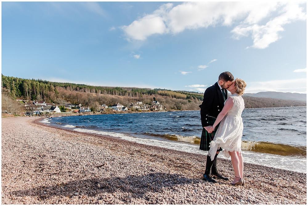 Séance engagement écosse Loch Ness