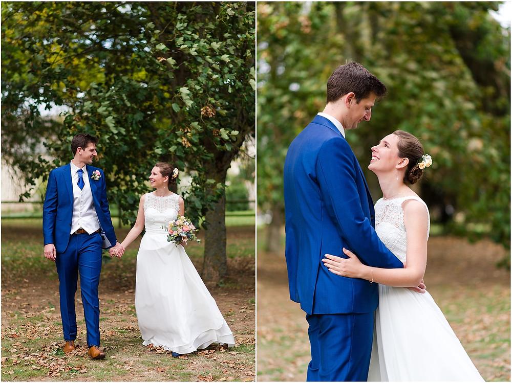 couple mariage vallée aux pages
