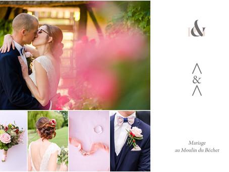 Mariage au Moulin du Béchet | Eure | A&A