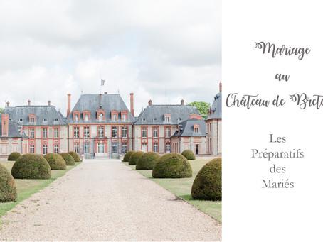 Mariage au château de Breteuil | Détails des Préparatifs