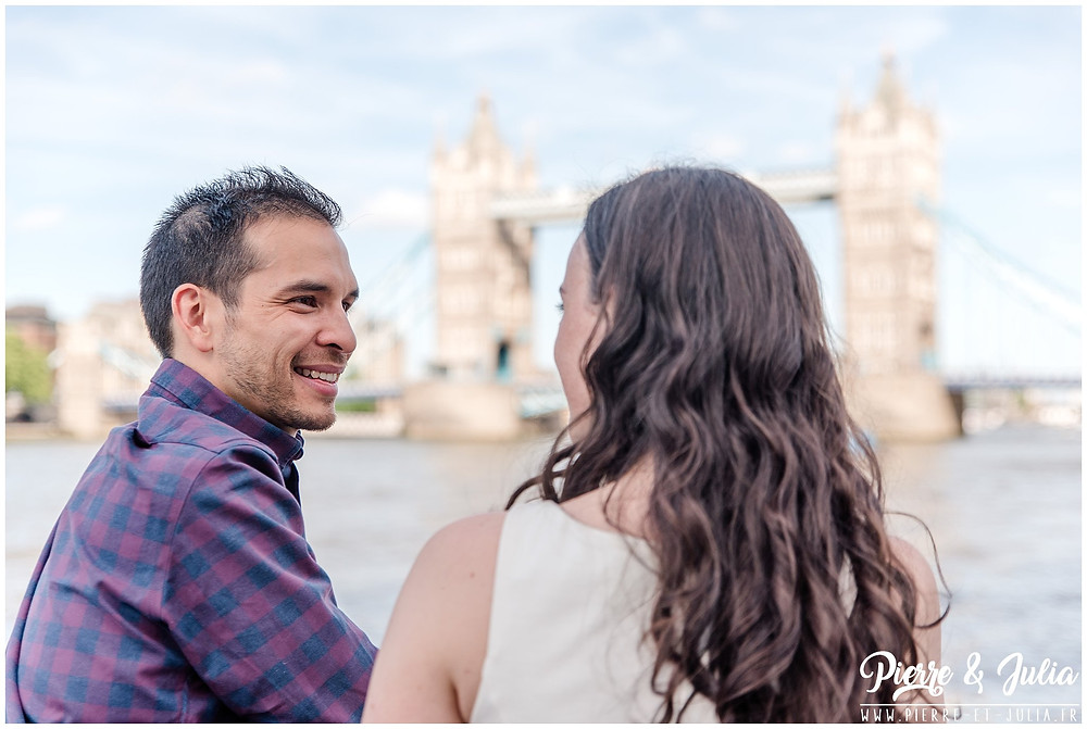 Séance Engagement Tower Bridge Londres