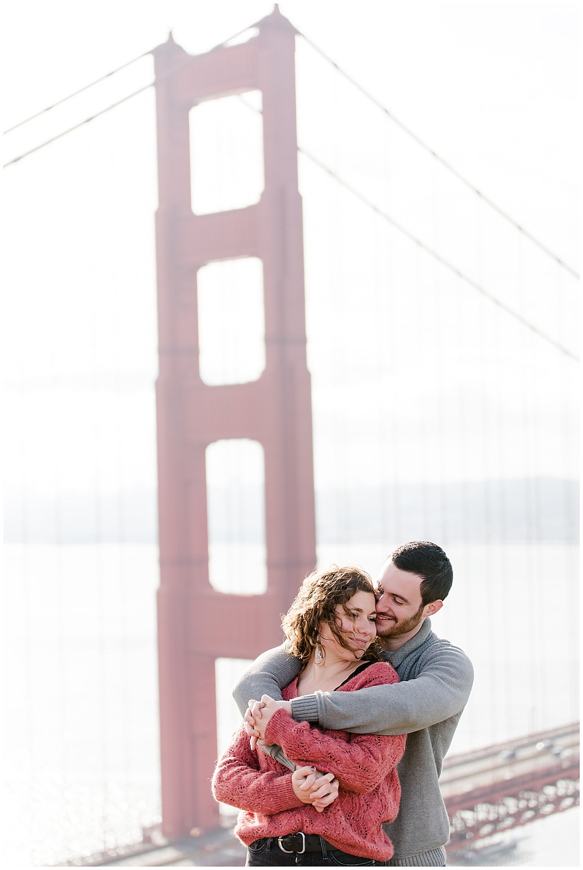 Séance photo de couple à San Francisco