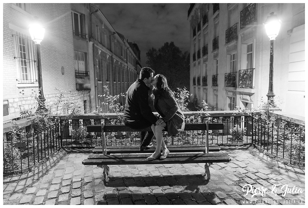séance photo engagement Paris